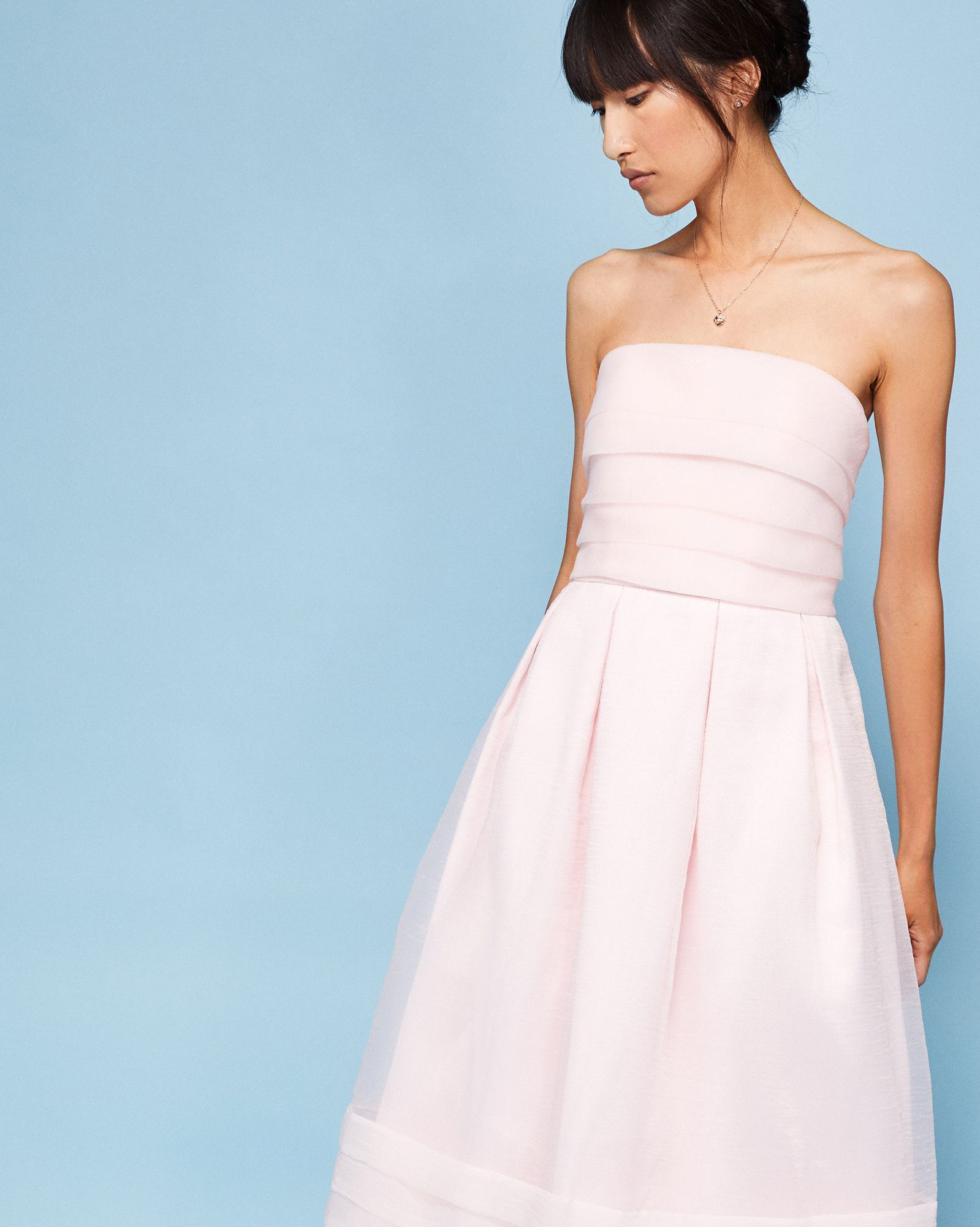 3903a6f46 ... Ted Baker. Shop a range of the newest arrivals in women s fashion  clothing. BANDU Strapless tiered maxi dress  TedToToe - for all these  weddings we have ...