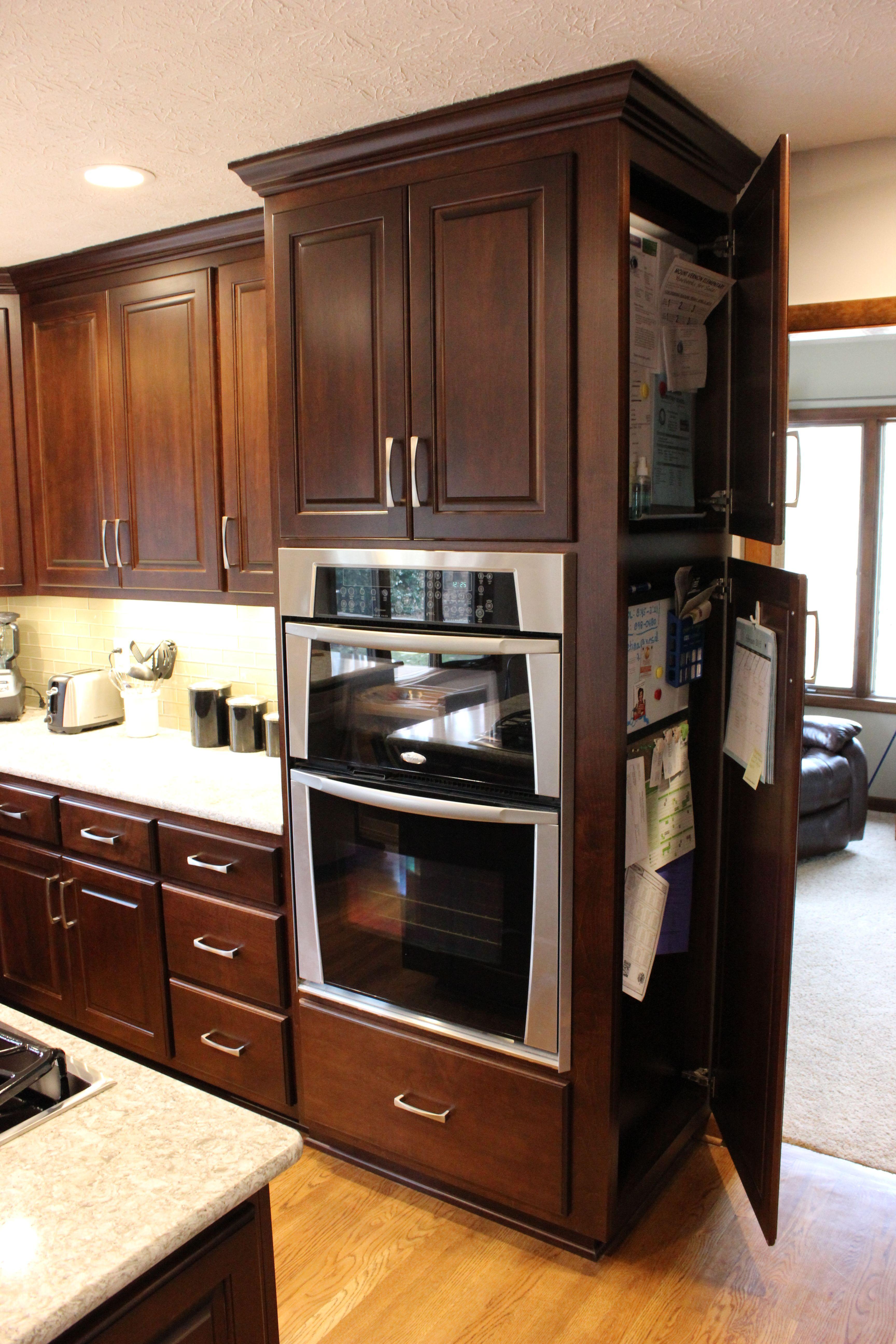 Hidden Compartment To Hide Calendars Etc Kitchen Chest Kitchen Kitchen Cabinets