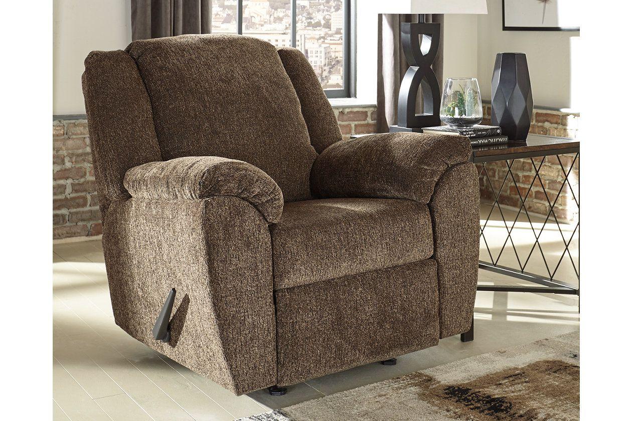 Azaline Recliner Umber Living Room Recliner Ashley Furniture