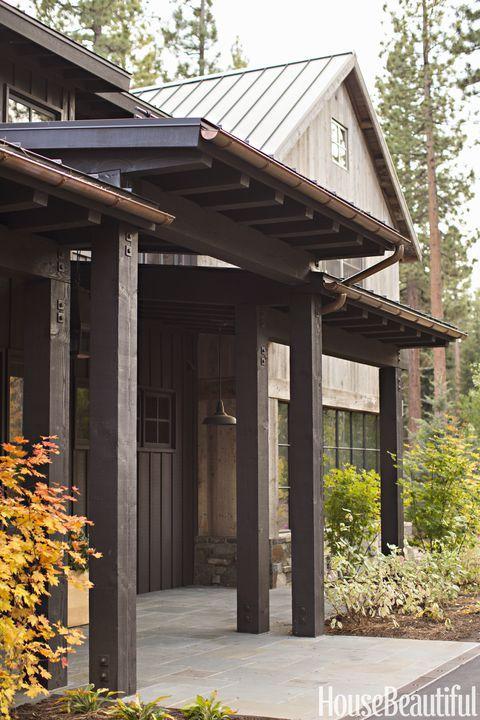 Photo of Dieses Berghaus bringt rustikalen Stil in neue Höhen