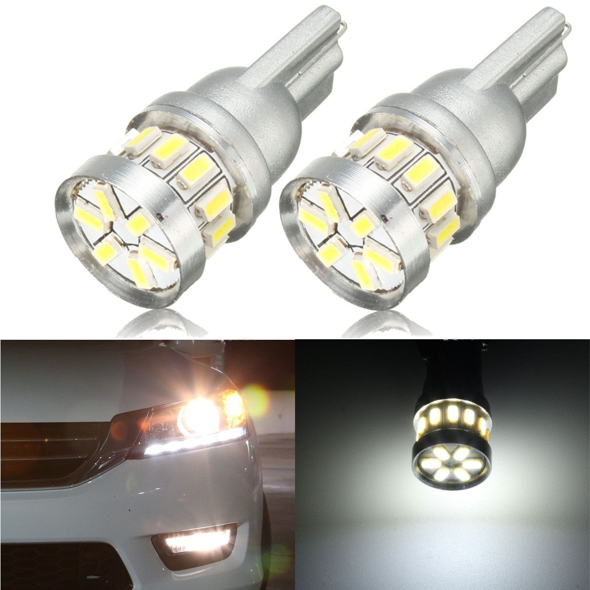 Automobiles & Motorcycles Car Lights Cqd-light 2pcs Car Led 9006 Fog Lamps High Power Bulbs Dc 12v 24v Hb4 Parking Drl Lights Turning Ampoule For Ford A Wide Selection Of Colours And Designs