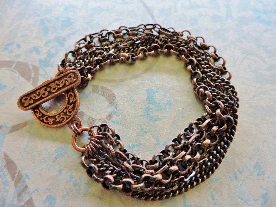 Multi-Chain Bracelet (and an option for making it into a necklace ...