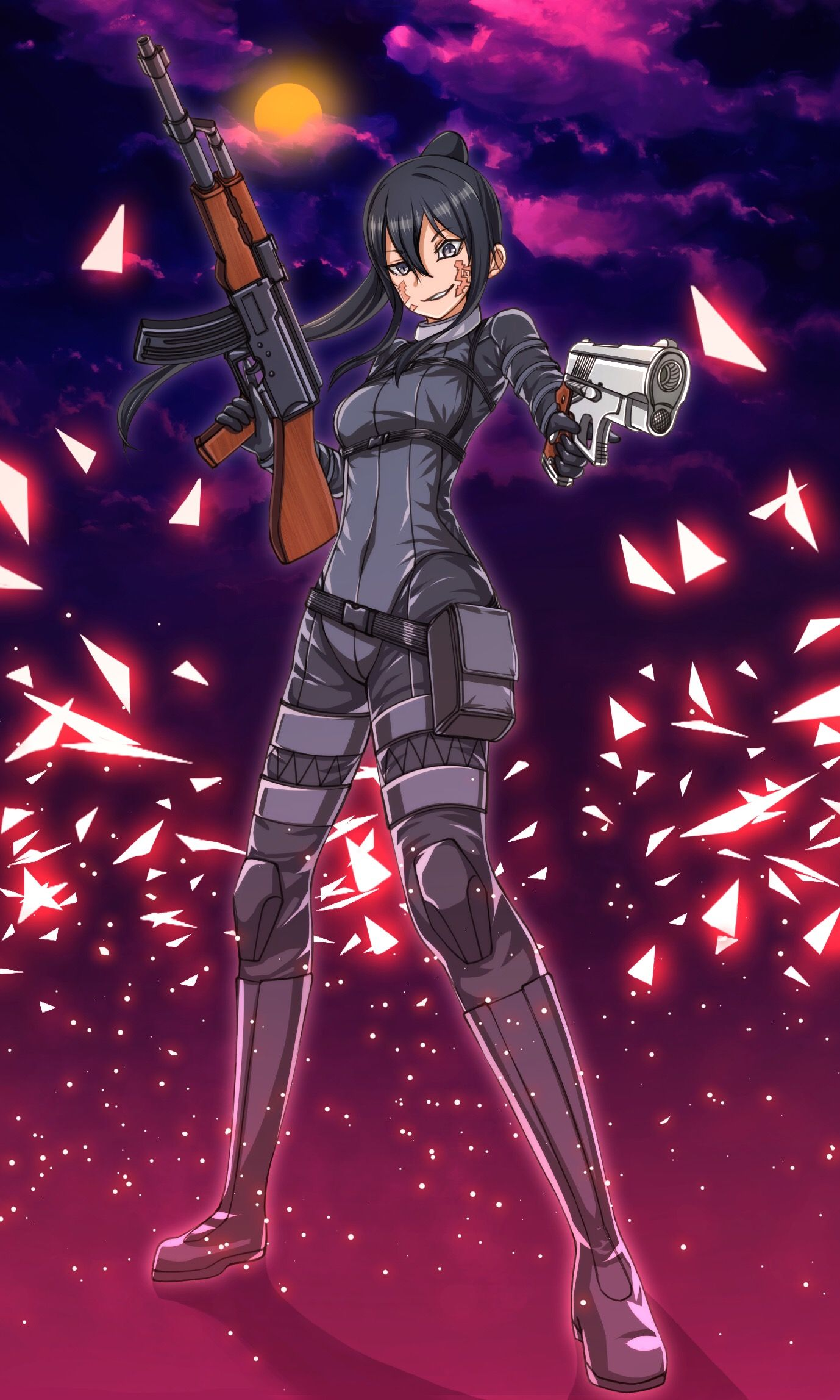 Pin on Sword Art Online Alternative: Gun Gale Online