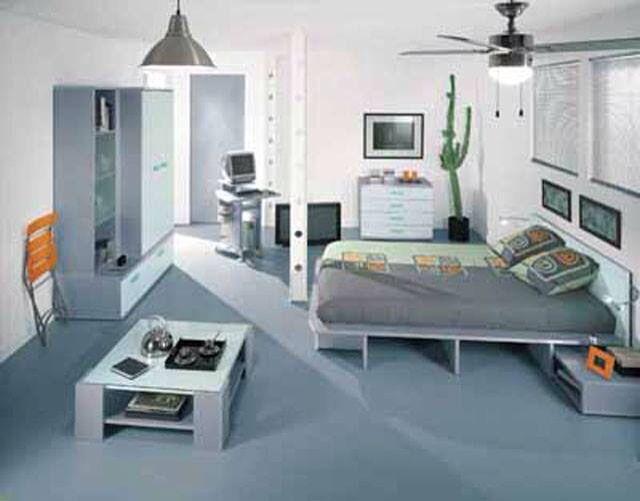 Práctica forma de decorar tu habitación para optimizar espacios....Imprímele estilo a tu decoración y a tu vida!!
