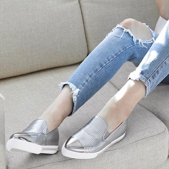 Authentic Miu Miu cap toe sneakers