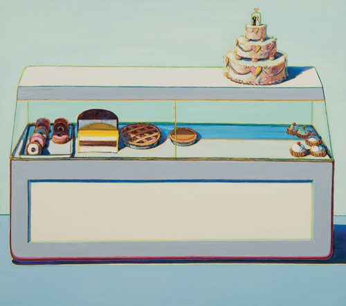 Wayne Thiebaud | The Icing on the Cake