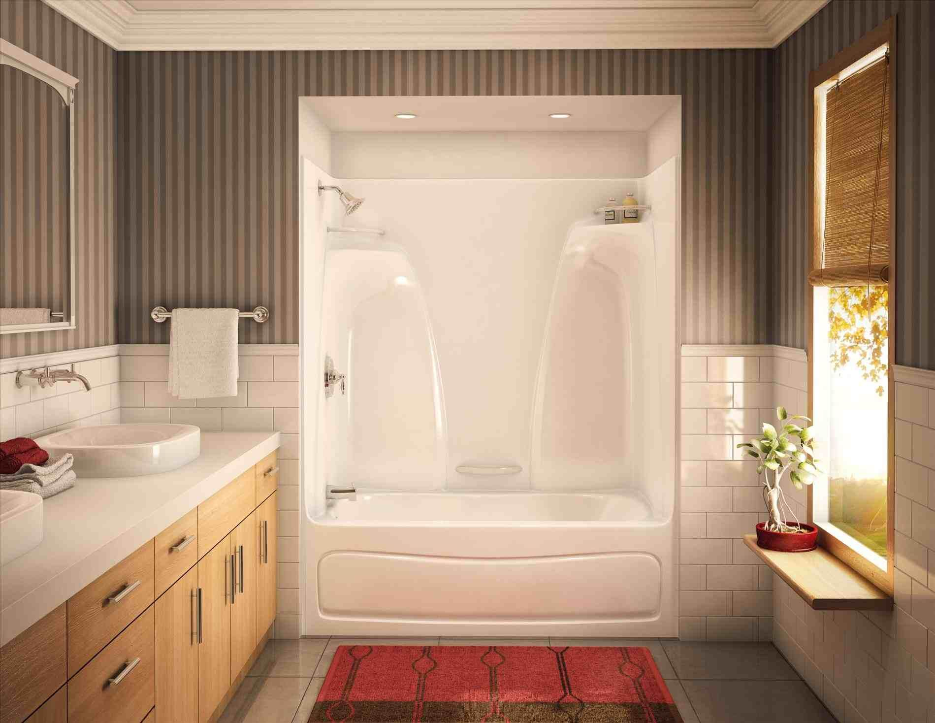 This shower tub combo inserts - steam shower kit canada showers ...
