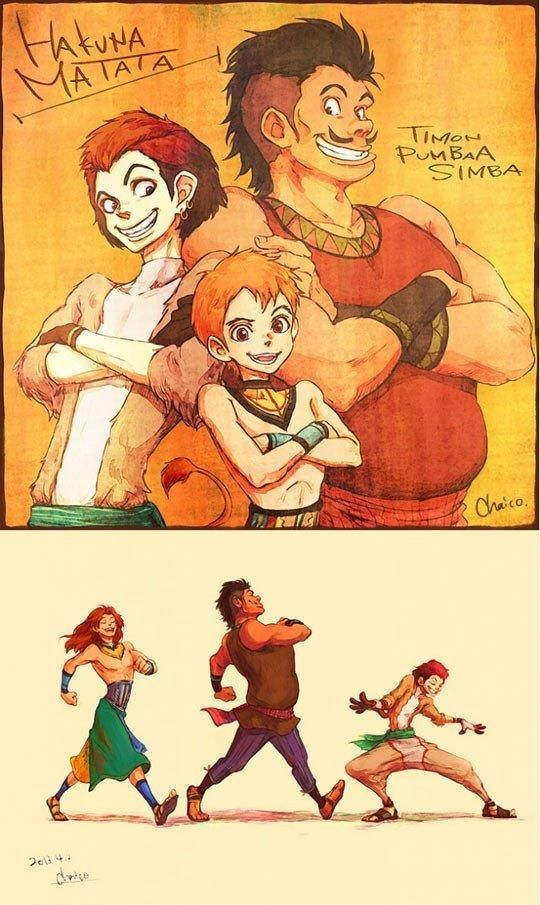 Lion King As People | thewile.com | Page 32