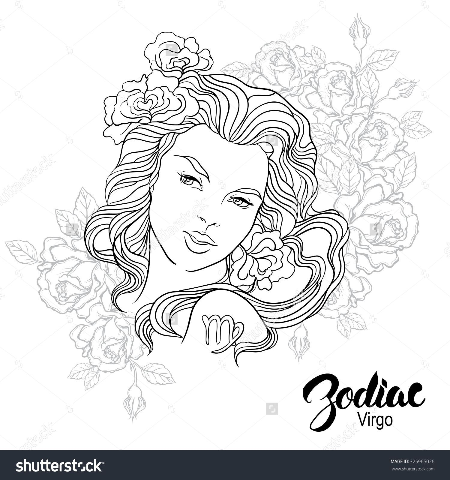 Libra Coloring Pages Collection Kleurplaten Horoscoop