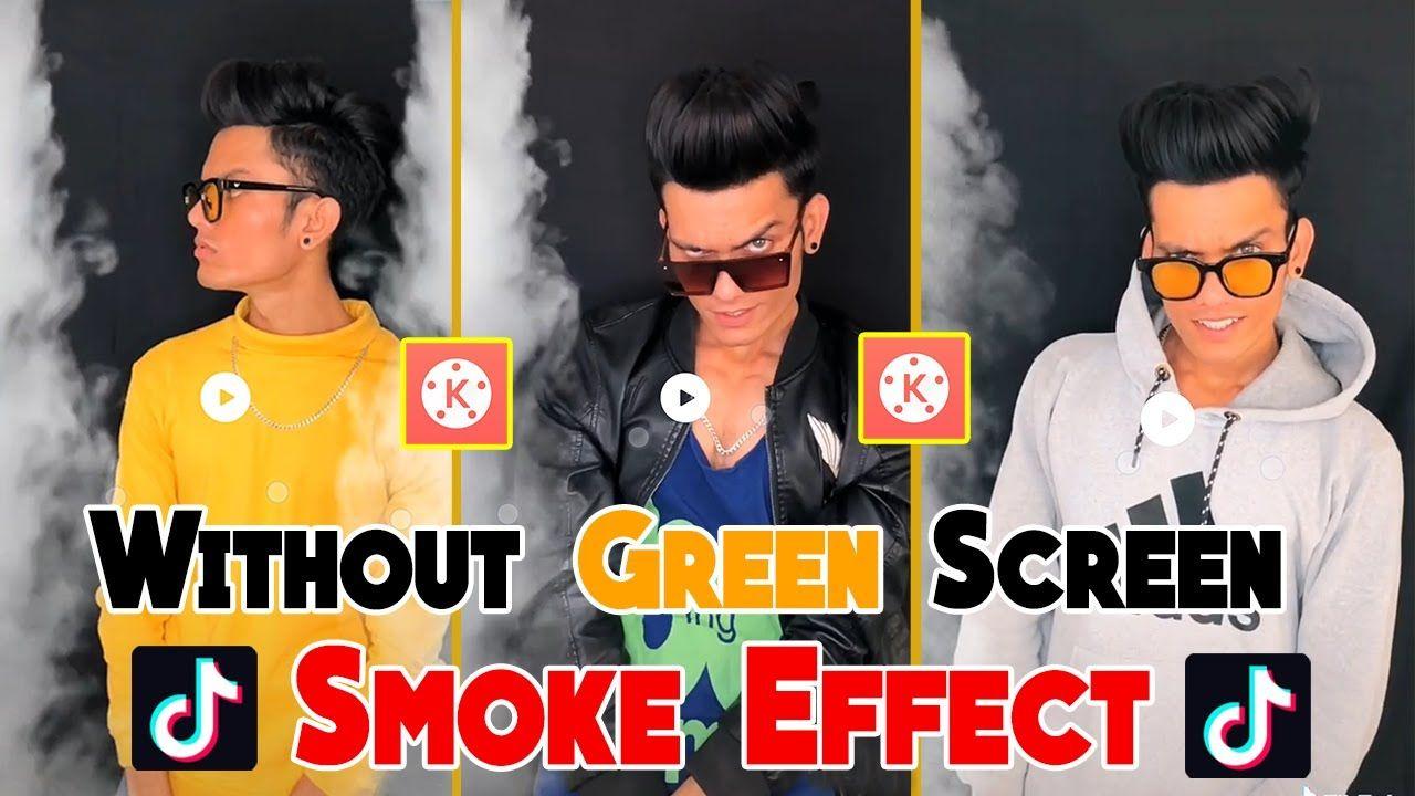 Tiktok Video Par Smoke Effect Kaise Lagaye How To Use Smoke Effect In Greenscreen Viral Trend Smoke