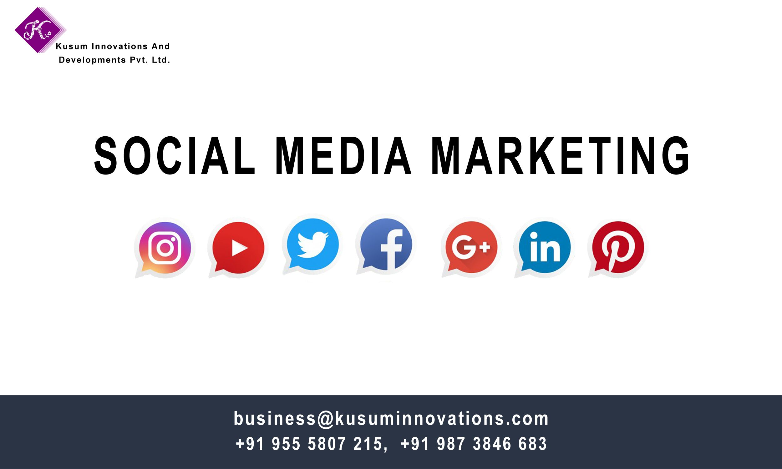 Increase your business visibility through Social Media Marketing