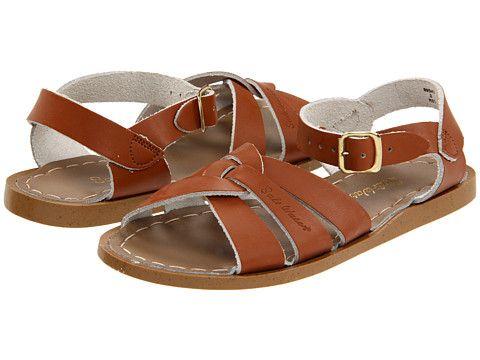 5d23c630364c Salt Water Sandal by Hoy Shoes The Original Sandal (Toddler Little Kid) Tan  - Zappos.com Free Shipping BOTH Ways