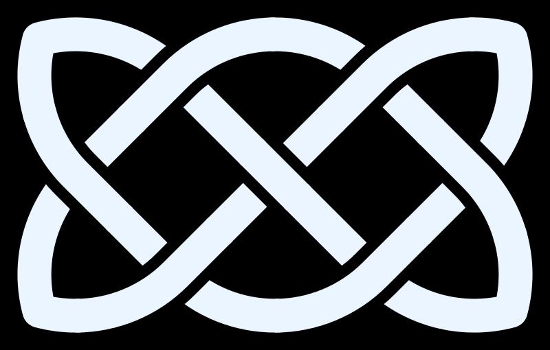 800px Celtic Knot Linear 7crossings Svg Png 800 510 Pixels Celtic Symbols Celtic Knot Celtic