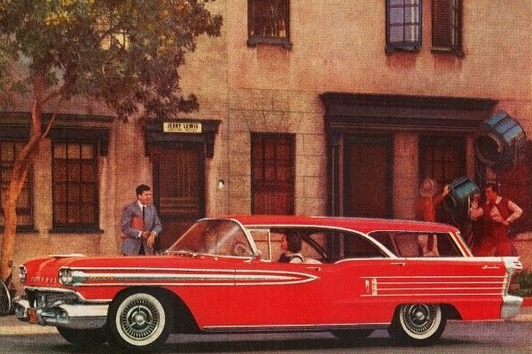 1958 Oldsmobile Super 88 Fiesta station wagon