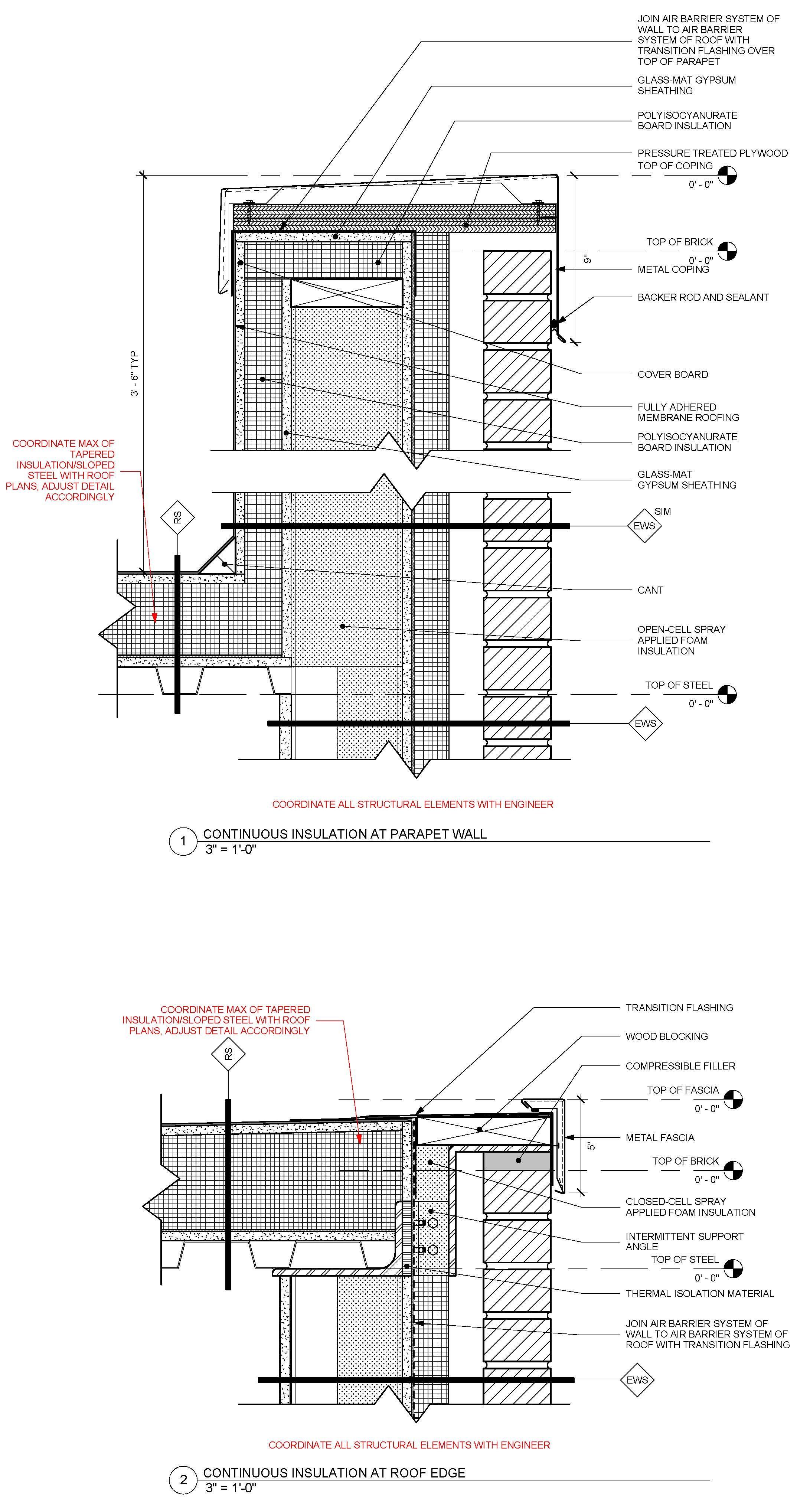 Revised Standard Detail Of Metal Framed Masonry Veneer