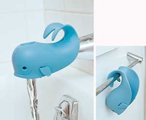 The Moby Spout Cover brightens up the bath while keeping baby\'s ...