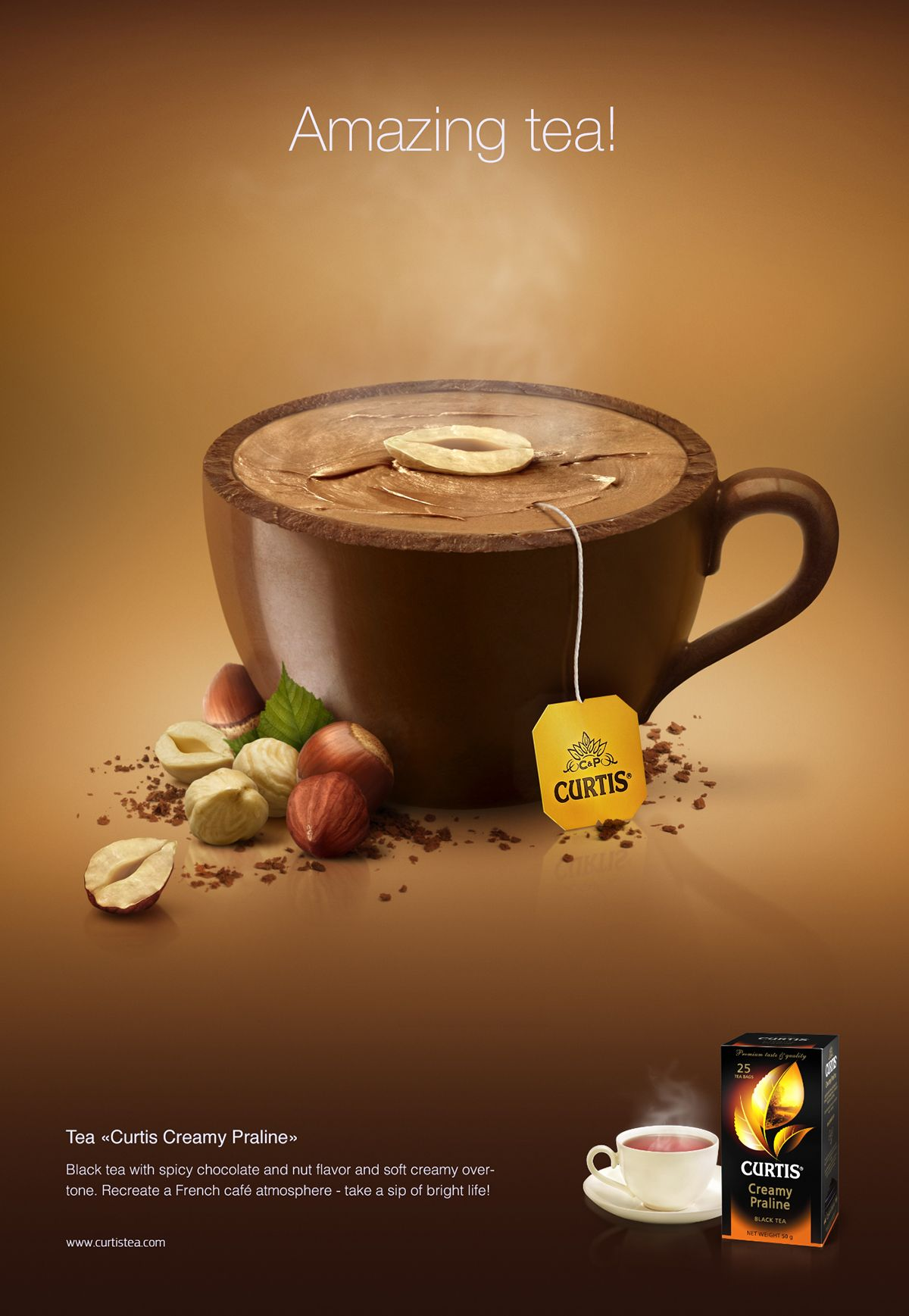 Tasty Teapots For Curtis On Behance Coffee Advertising Food Poster Design Creative Advertising Design