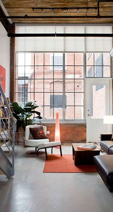 Golden Belt Loft Apartments In Durham. I Love The Modern Style.