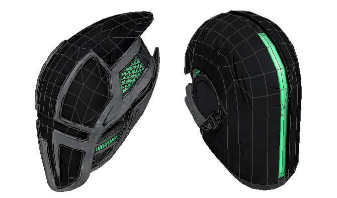 Borderlands 2 - Zer0's Helmet Papercrafts Free Download - http://www.papercraftsquare.com/borderlands-2-zer0s-helmet-papercrafts-free-download.html#Borderlands, #Borderlands2, #Helmet, #Zer0