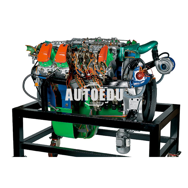 8 V Cylinders Turbo Diesel Engine For Truck Iveco Turbostar 190 38 Cu Cm Cutaway Model Ae36084e 11 In 2020 Cutaway Diesel Engine Diesel