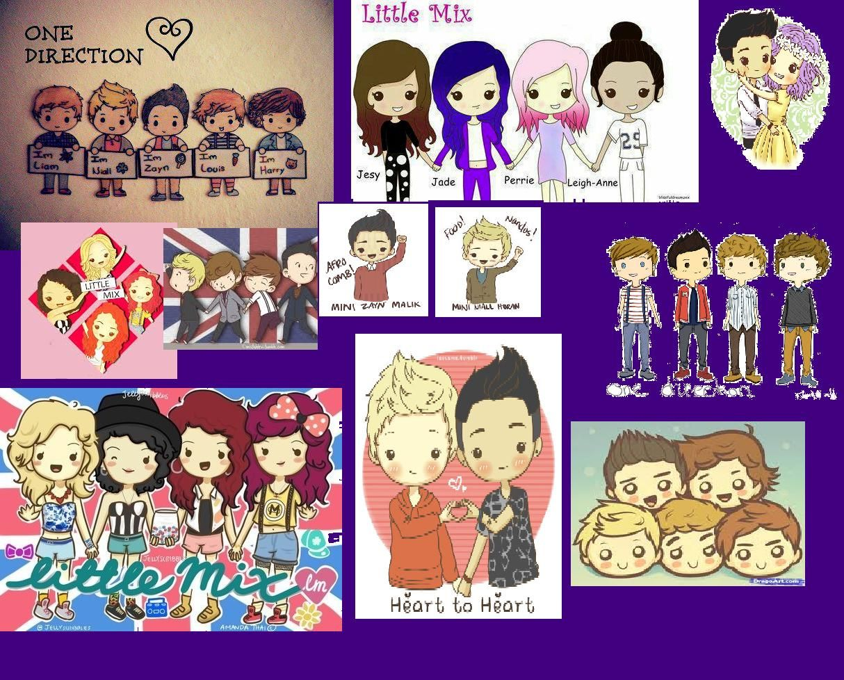 ONE DIRECTION & LITTLE MIX