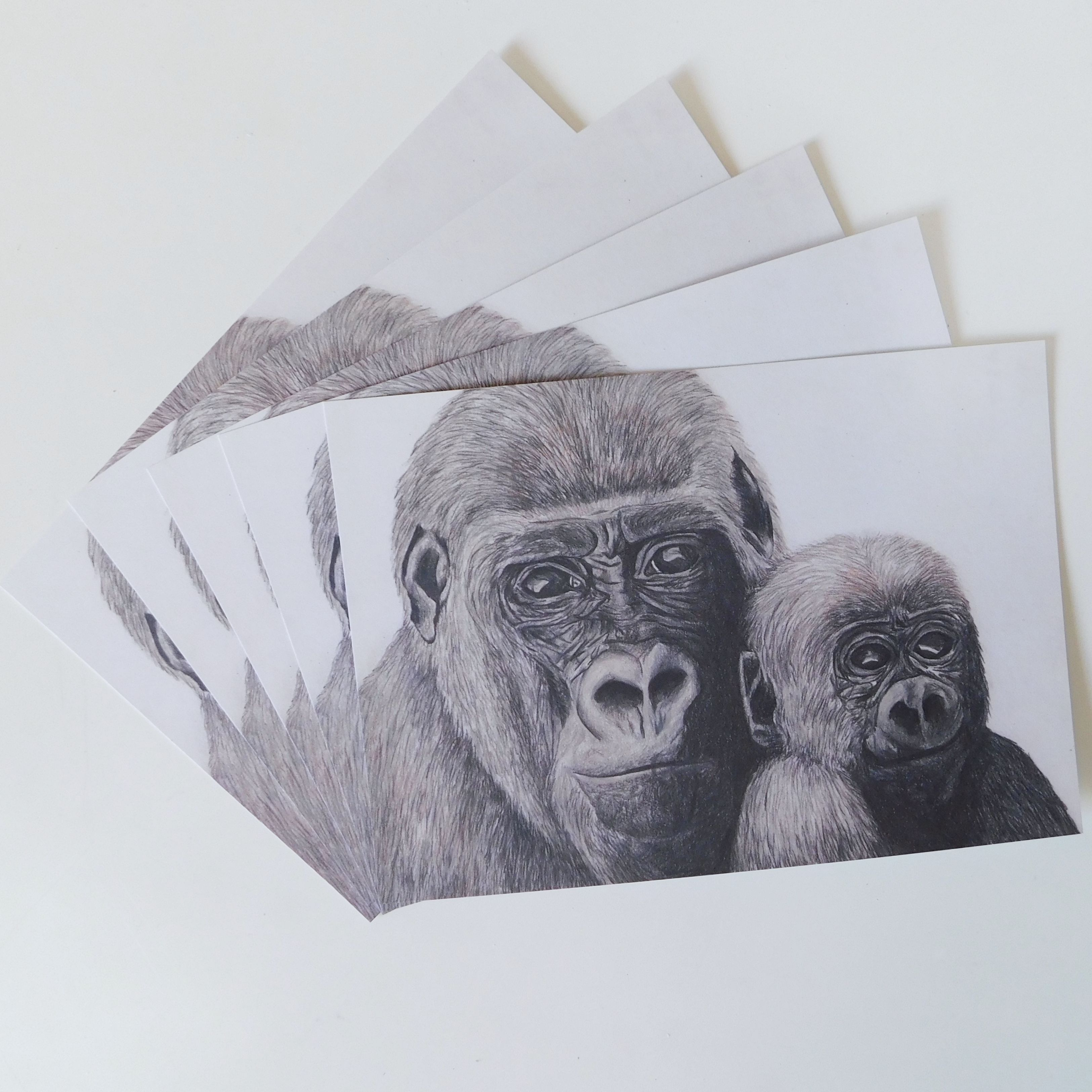 The realistic colour pencil drawing as an afforable print mummy and