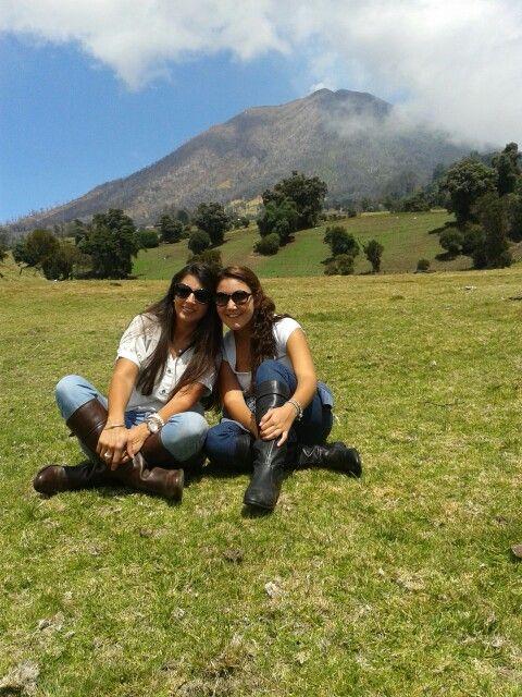 Volcán Turrialba.
