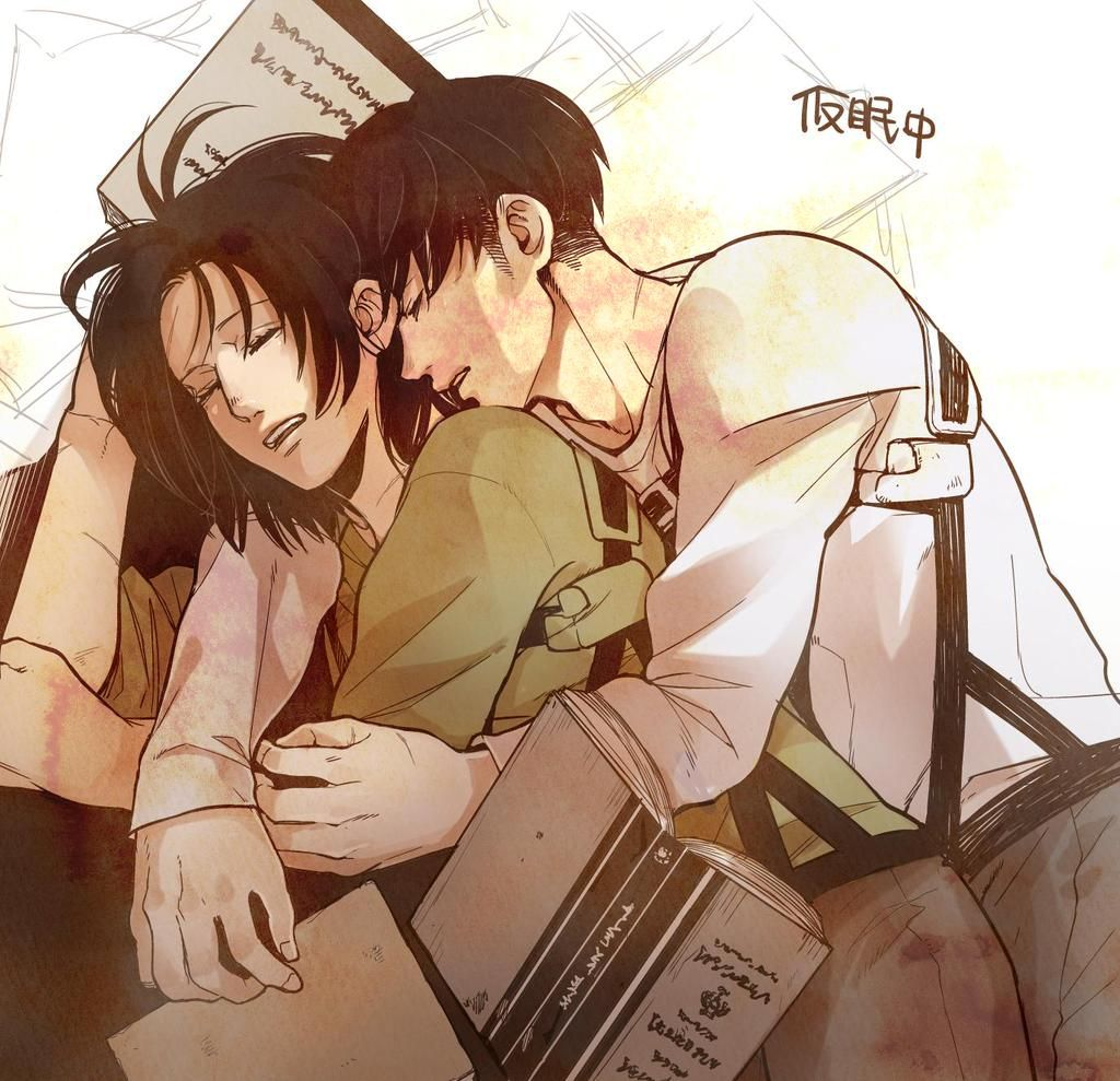 ハンジ「仮眠をとると どこからともなく小男がやってきて 抱き枕にされる」