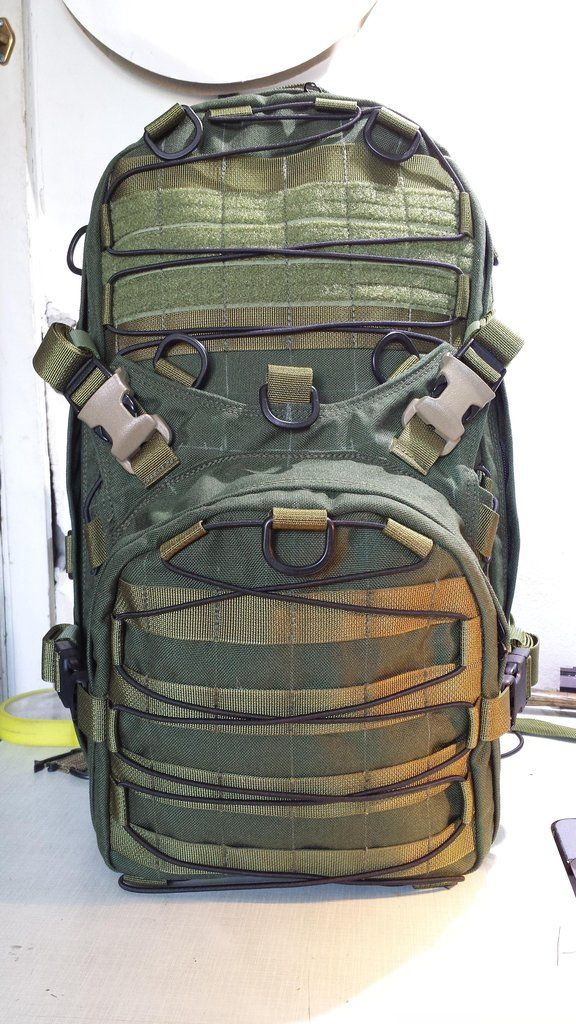 OD Green Backpack one of the DIY Tactical Members made.  8a589ef6a82f0
