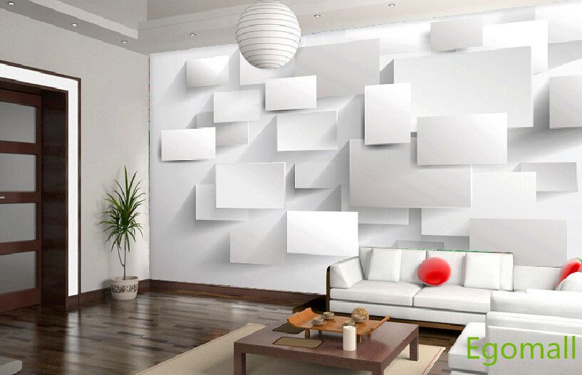 Http://g02.a.alicdn.com/kf/HTB14oMKHFXXXXXAXpXXq6xXFXXXH/6Square 3D  Wallpaper Papel Parede 3d Wall Paper Papel De Parede Living Room Home  Decoratiou2026