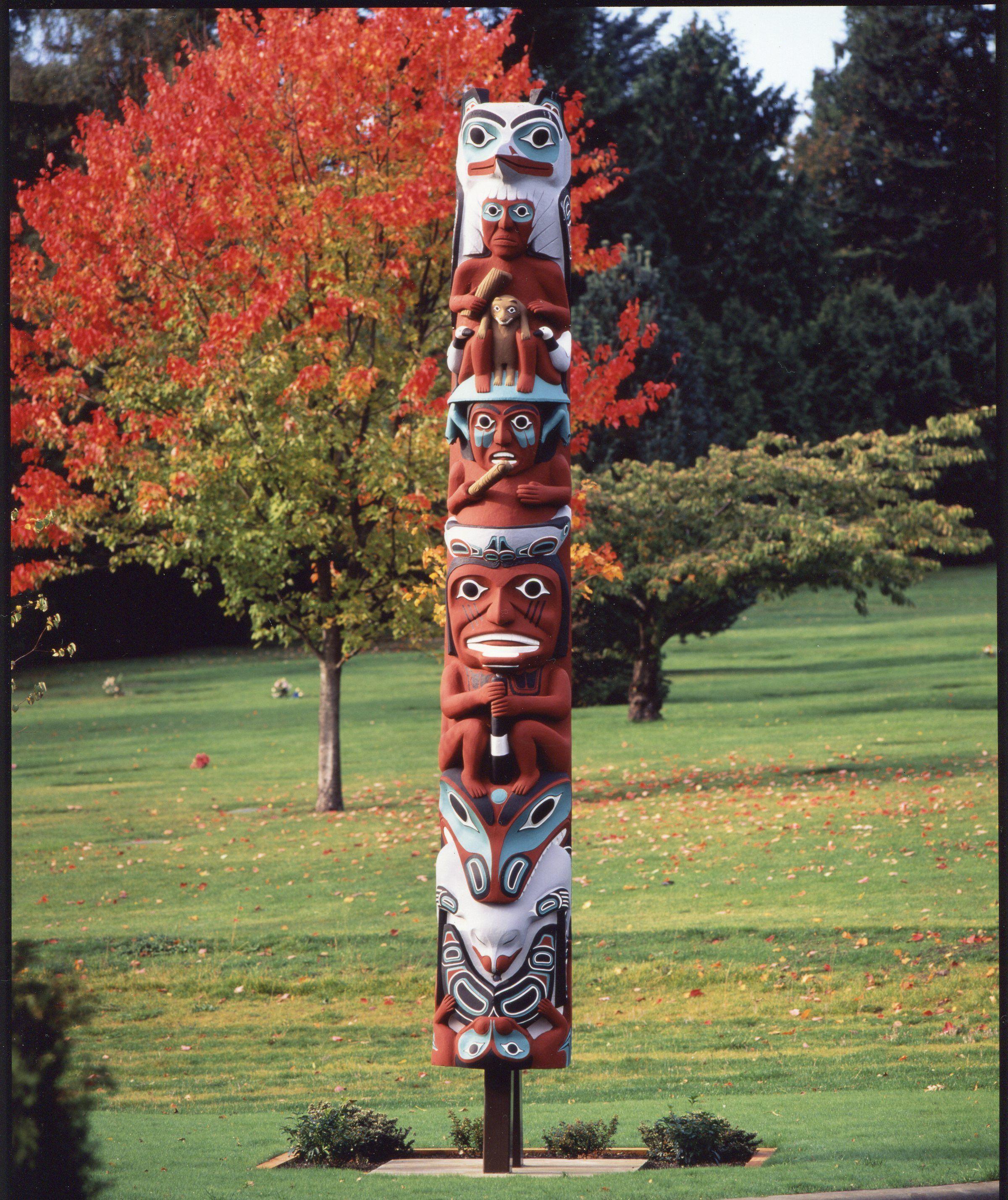 Raven Totem Pole