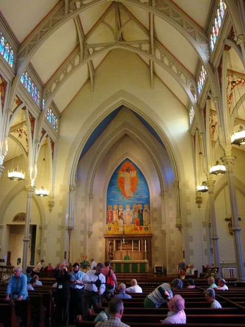 interior of Ascension and St. Agnes Church