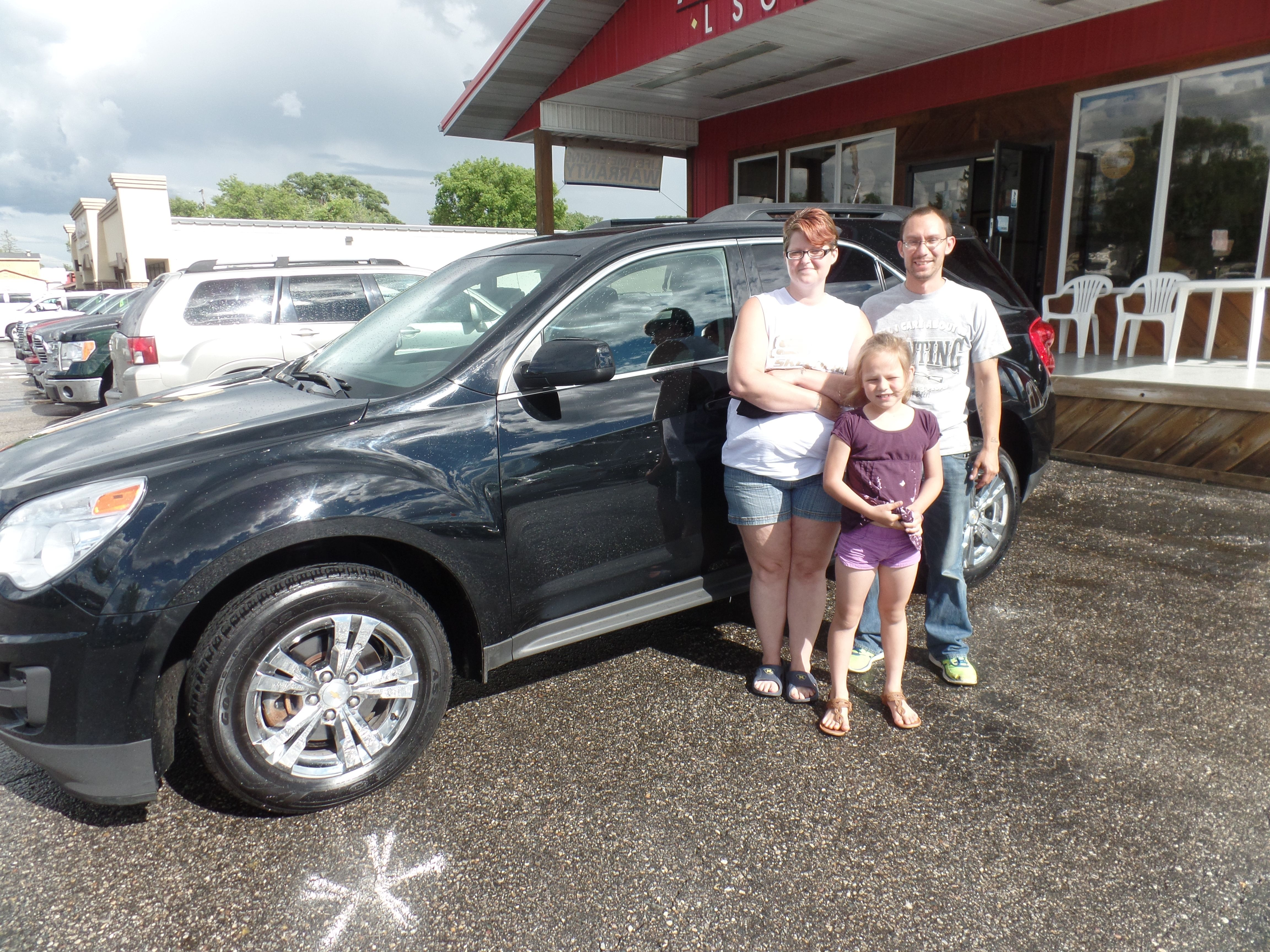 Congratulations To The Mcconnell Family On Their Purchase Of A New Chevrolet Equinox We Appreciate The Opportunity To Earn Your Business Chevrolet Equinox Chevrolet Vehicles