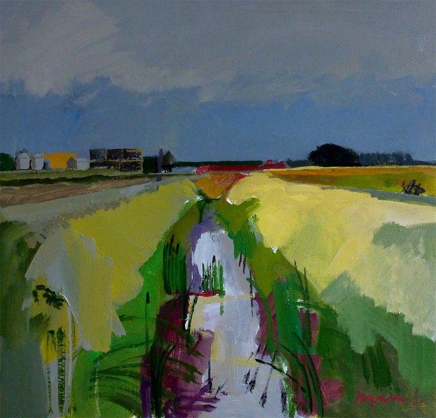 F R E D I N G R A M S Artist Landscapes Landscape Art Abstract Landscape Landscape Paintings