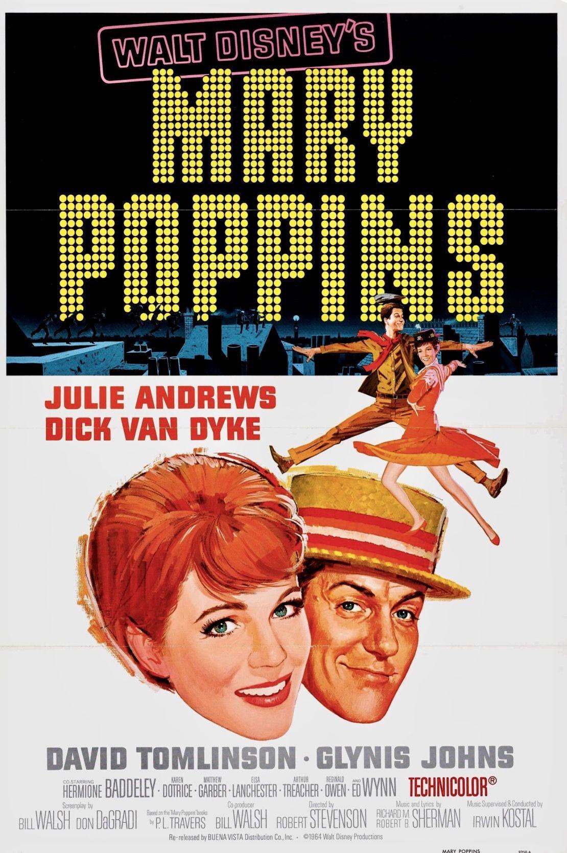 Pin Van Bilboman Aste Nagusia Op With Walt Disney Mary Poppins Film Julie Andrews