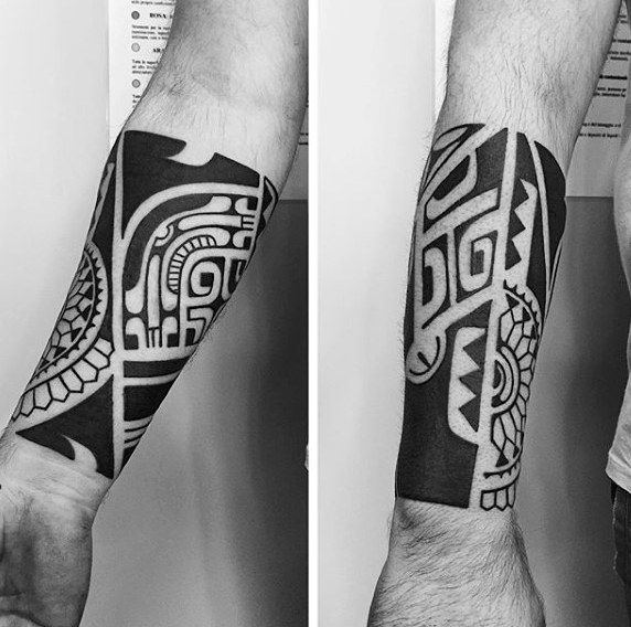 60 Tribal Forearm Tattoos For Men Manly Ink Design Ideas Forearm Tattoo Men Tribal Forearm Tattoos Tattoos For Guys