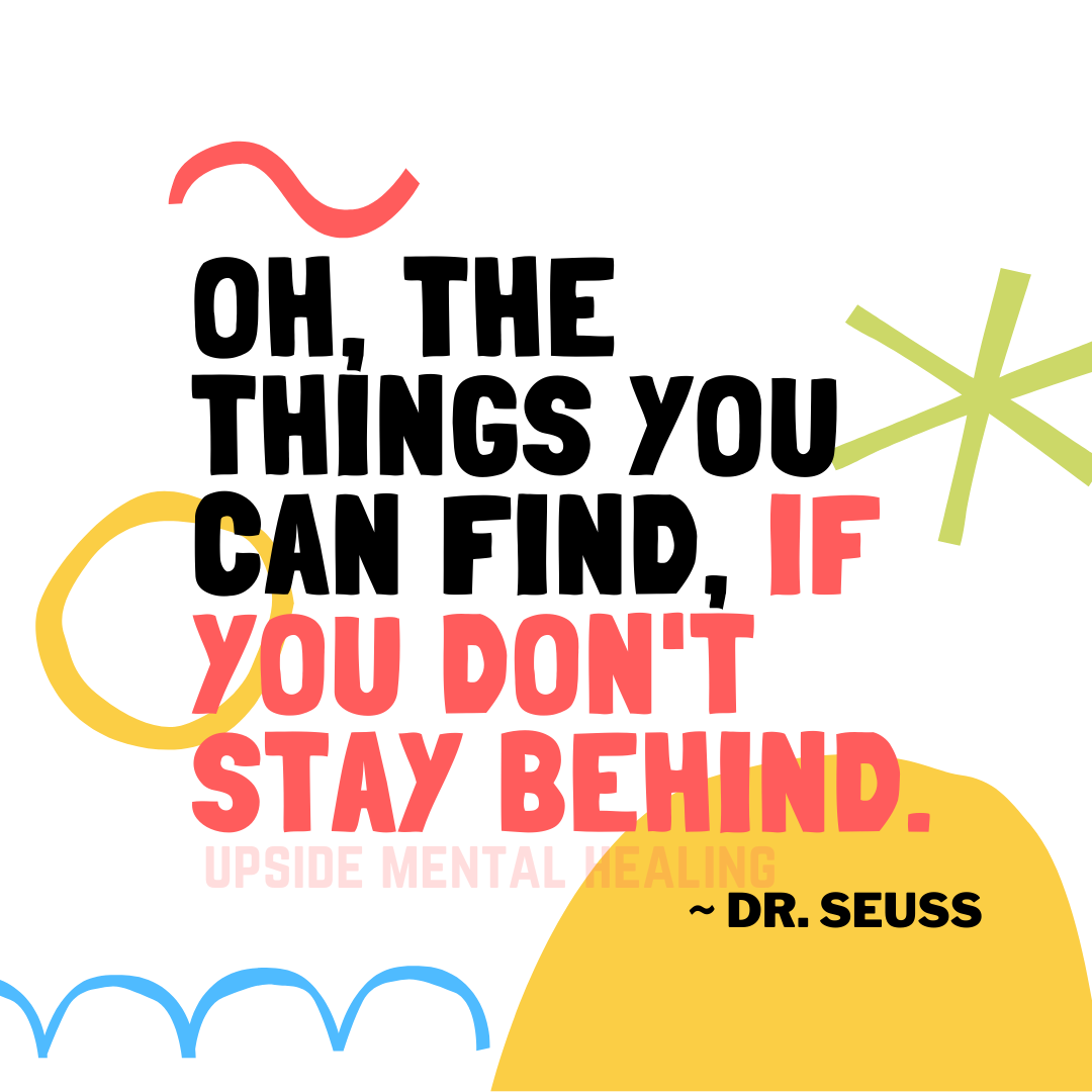No one knows inspiration better than Dr. Seuss #inspirationalquotes #inspiration #positivevibes #positive #drseuss #mentalhealing #mentalhealth #healing #hope #quotes #dailyquotes #happy