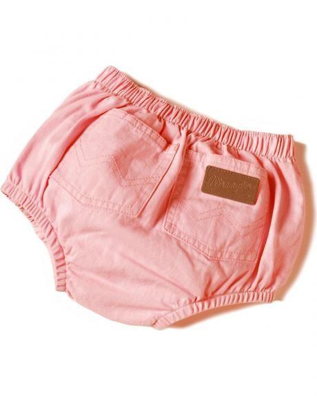 Washed Indigo Wrangler Infant Diaper Cover