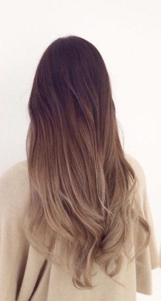 Perfect Ombre For Brunettes Hairstyles Pinterest Brunettes