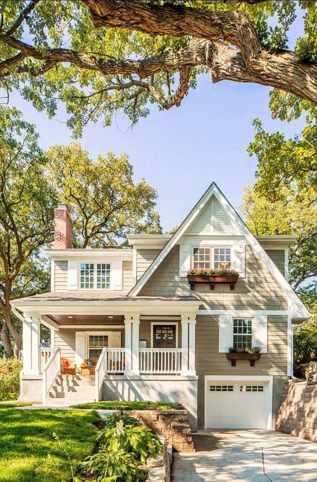 Beautiful Exterior House Colors Design: Beautiful With A Hint Of Color.