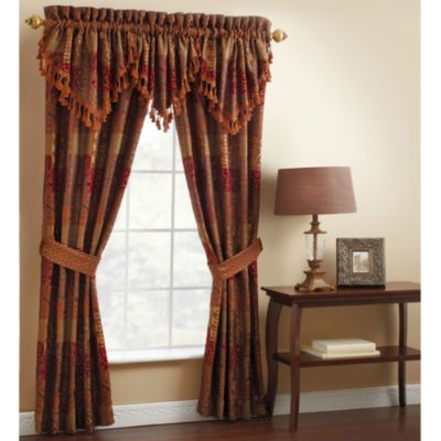 Window Treatment jcpenney valances window treatments : Waverly® Rose Momento Rod-Pocket Scalloped Valance - JCPenney ...