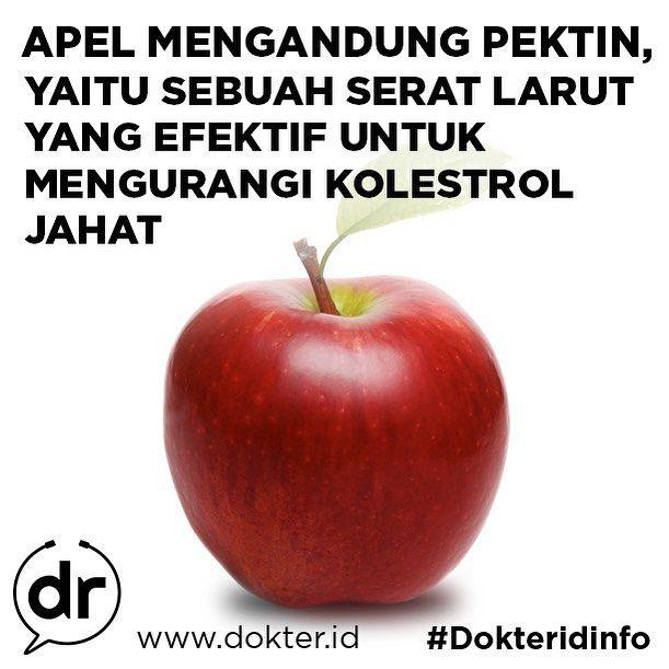 Manfaat Makan Buah Apel Setiap Hari