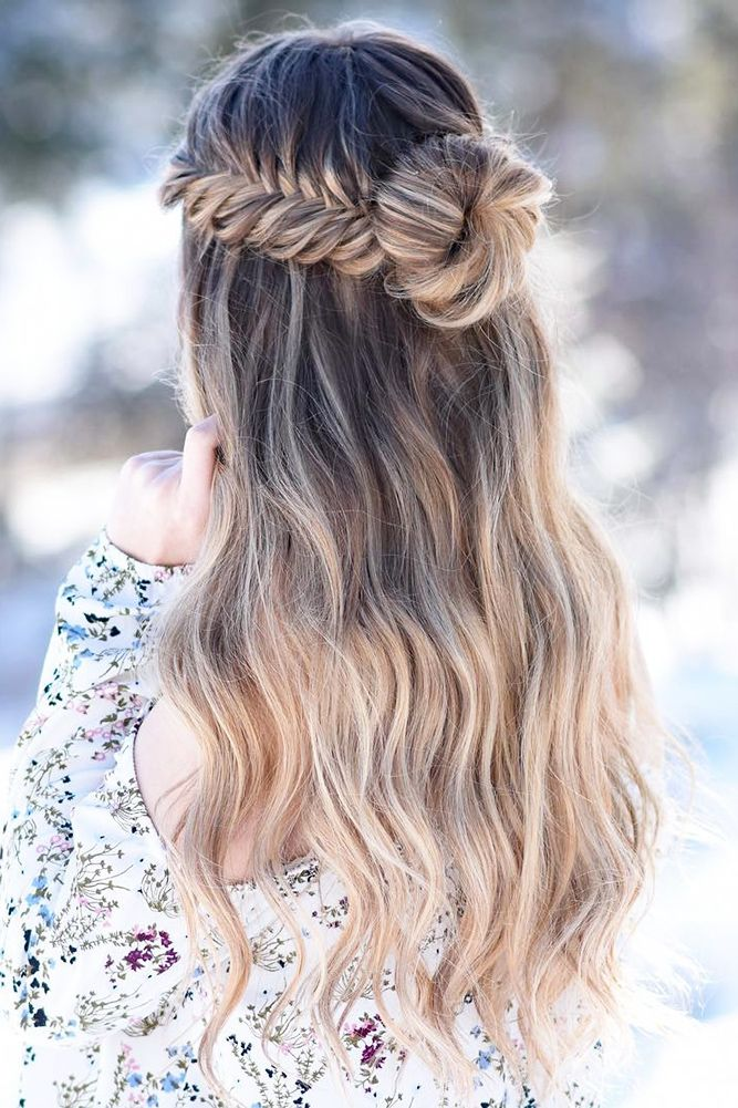 36 Chic Looks With Elegant Wedding Hairstyles %%pa