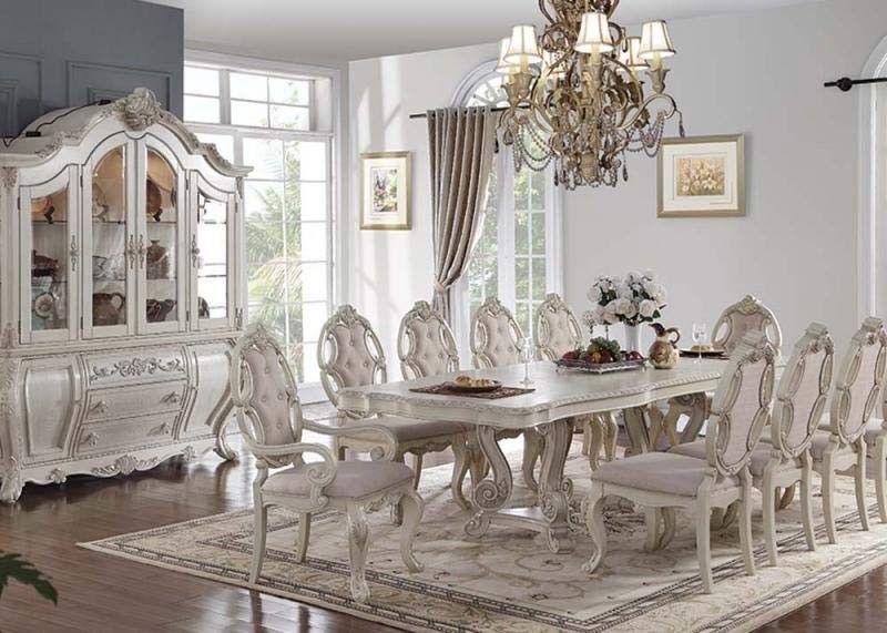Acme Furniture Ragenardus 10 Piece Dining Room Set 61280 10set