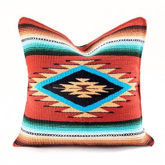 Native American Geometric Accent Pillow Native American Quilt Pillows American Pillow