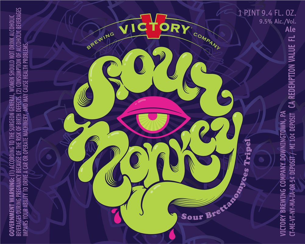 Victory Sour Monkey Is A Future 750ml Bottle Potential From The