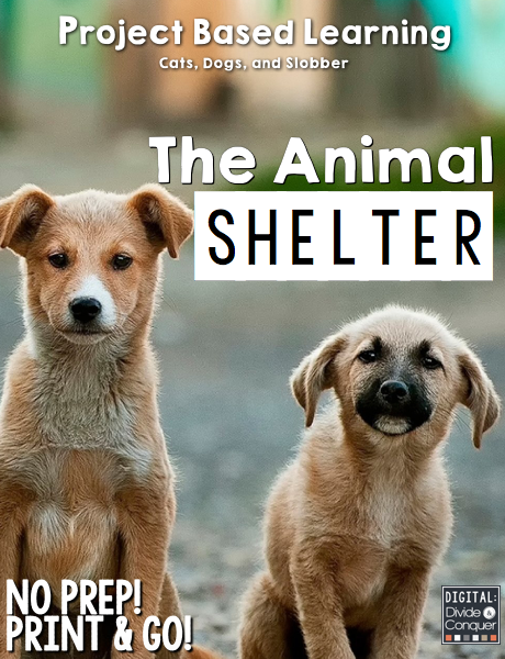 Project Based Learning Activity Run An Animal Shelter Pbl