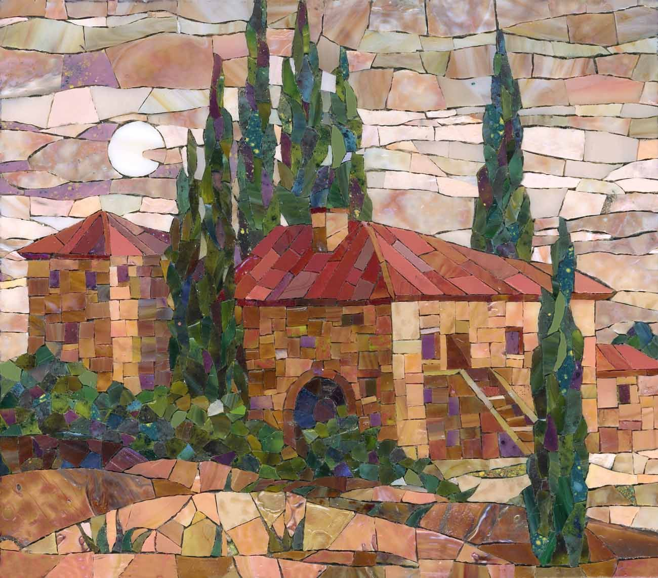 Картина из мозаики angeles pinterest mosaics glass and mosaic diy