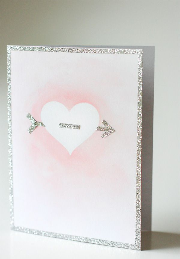 Simple But Beautiful Valentine S Day Card Be Mine Valentine