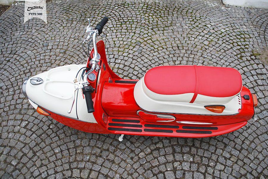 CEZETA – TYPE 506 ELECTRONIC SCOOTER #cezeta #type506 #electric #scooter #vintage #garage